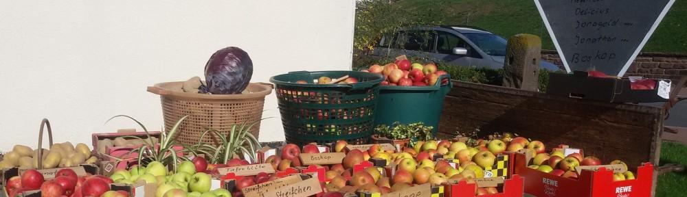 Alte Apfelsorten - bunt und lecker!